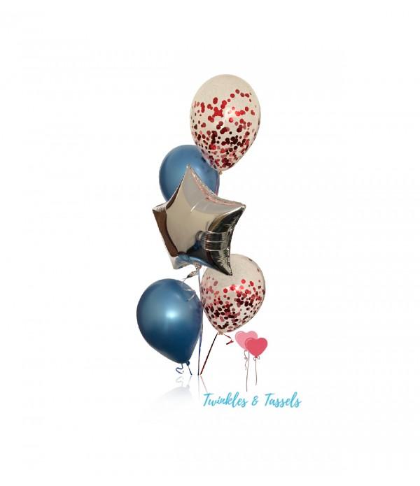 Galaxy Themed Balloon Bouquet