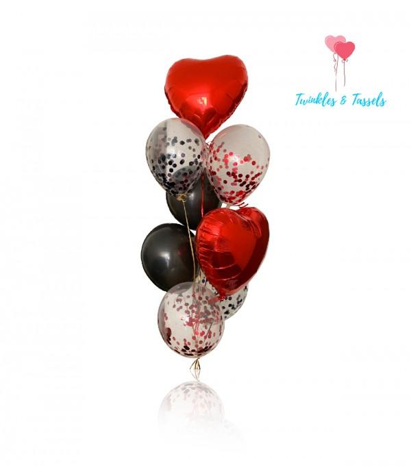 Queen of Hearts Balloon Bouquet