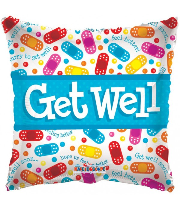 Get Well Foil Balloon