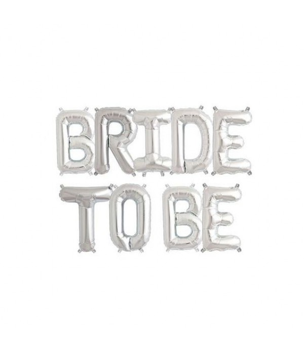 Bride to Be Foil Balloon Banner