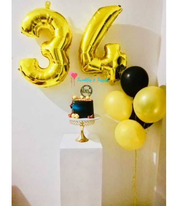 """Foil Number Balloons - 30"""""""