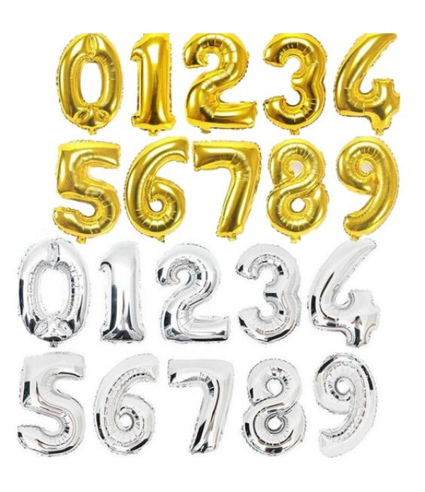 "30"" Foil Number Balloon"