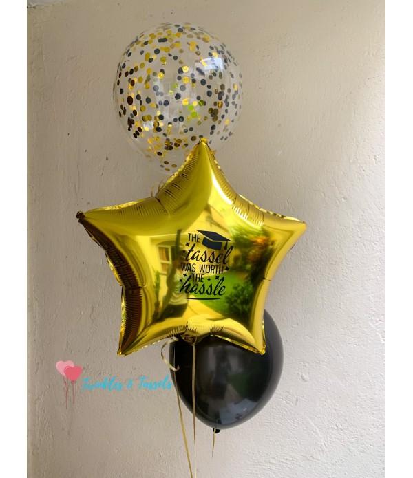 Graduation Star Balloon Bouquet