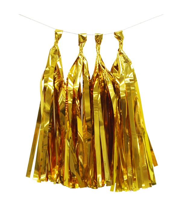 Metallic Tassel Garland Kit - 5 Tassels