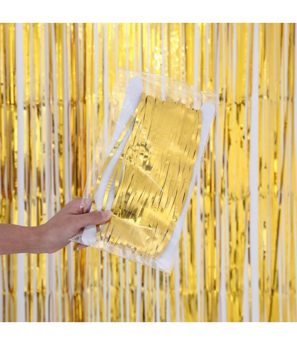 Foil Tassel Curtain