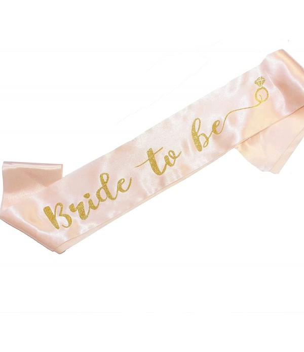 Bride To Be Sash - Rose Gold