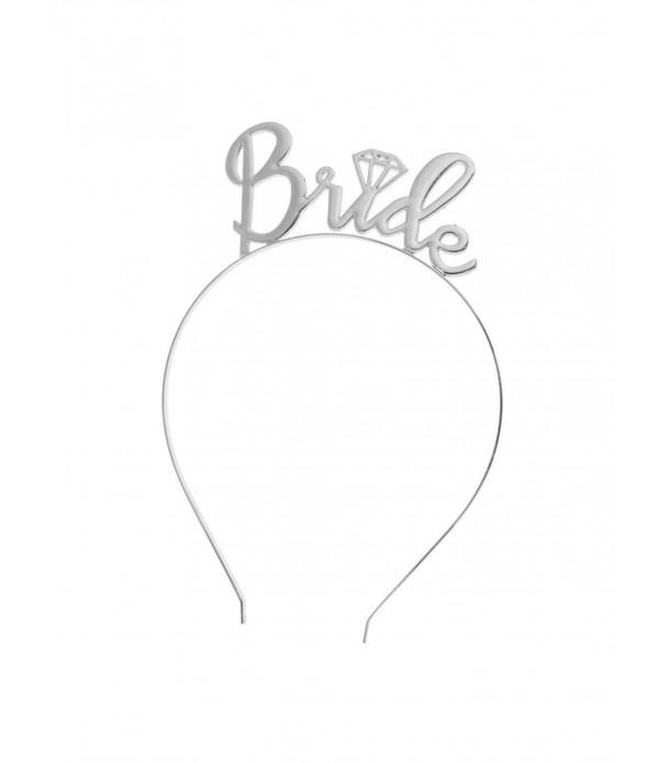 Bride Headband - Silver